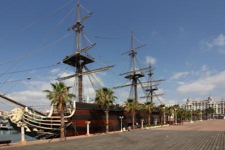 Historic and famous Spanish galleon Santisima Trinidad Stock Photo - 15283976