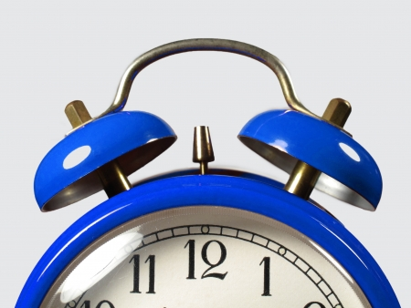 Alarm clock in the foreground Stock Photo - 15285652