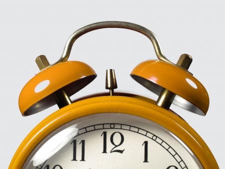 despertador: Alarma en el primer plano