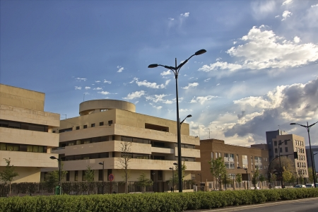 headquarter: modern building in the city of Albacete in Spain