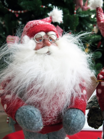 man santa claus at Christmas photo