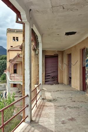 destroyed house broken balconies Stock Photo - 16851380