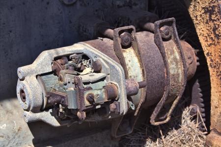 alternateur: vieux train alternateur �lectrique d'une machine
