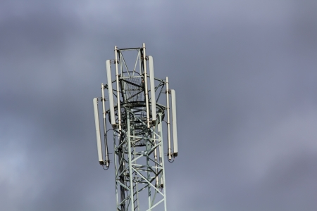 telephony: repeater tower with mobile telephony