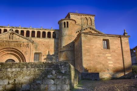stone of destiny: Collegiate Church of Santa Juliana in Santillana del Mar, Spain