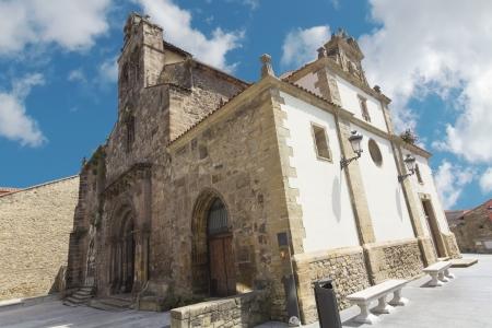 aviles: Church of Sabugo in Aviles, Spain