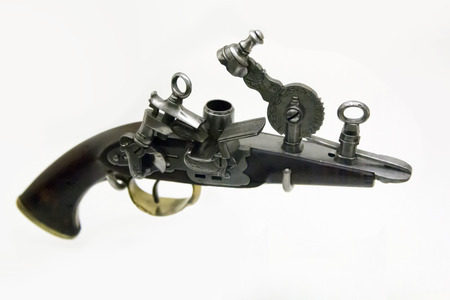 roving: old roving gun Stock Photo