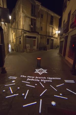 jewish quarter: entrance to the Jewish quarter of the city of Toledo, Spain