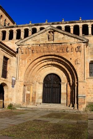 juliana: Collegiate Church of Santa Juliana in Santillana del Mar, Spain