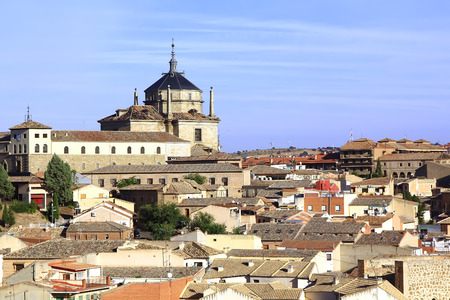 toledo town: General view of the famous town of Toledo, Spain Editorial