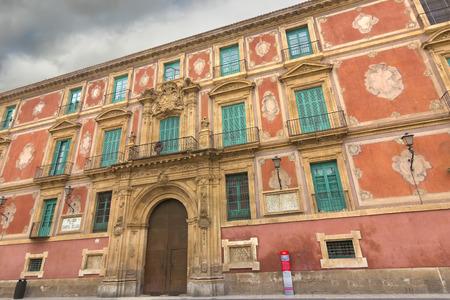 episcopal: Episcopal Palace of Murcia, Spain Editorial