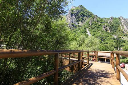 gateway in the mountain photo