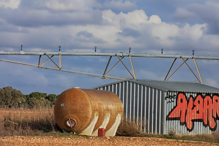 rustproof: store with tanks for agricultural products