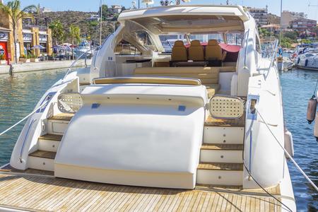 elegant luxury yacht photo