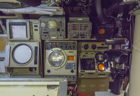oldest electronic instruments, an old submarine