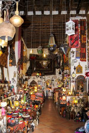 typical Moorish North African market