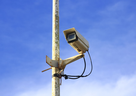 punished: surveillance camera punished for inclement weather