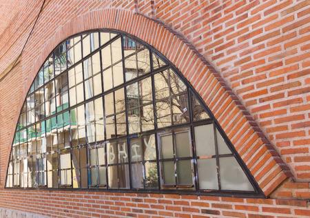 elliptic: window glass and brick shaped elliptic