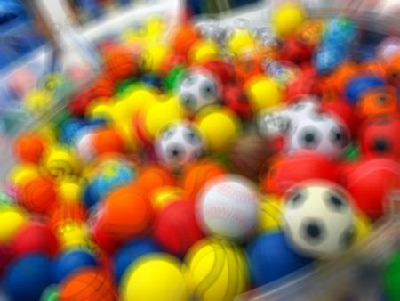 based background colored balls photo