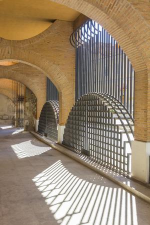 siderurgia: Iglesia puertas de San Lorenzo, Valladolid, Espa�a