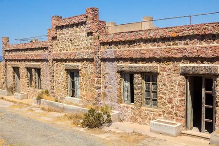 barracks: building of a barracks abandoned in Cartagena, Spain
