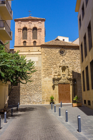 declared: CHURCH AND CONVENT OF PURE Declared as Property of Cultural Interest in 1982, in Almeria Spain