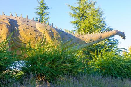 herbivorous: quiet giant herbivorous dinosaur Diplodocus