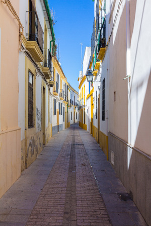 typical: Typical nice clean city streets Cordoba, Spain
