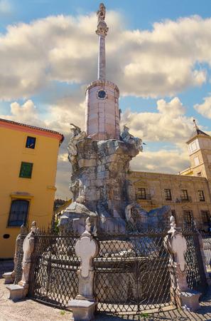 san rafael: Monument to the Triumph of San Rafael in Cordoba, Spain