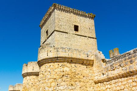 portillo: Portillo Castle in Valladolid Spain