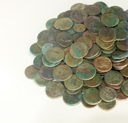 roma antigua: Monedas antiguas de la antigua Roma