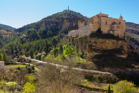 cuenca: Old restored convent of Cuenca, Spain