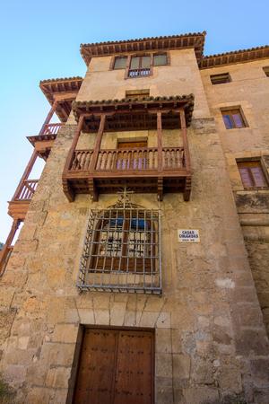 cuenca: Famous hanging houses of Cuenca in Spain