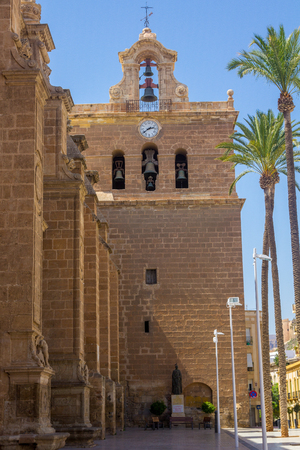 incarnation: Cathedral of the Incarnation in Almeria Spain Editorial