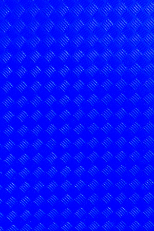 metalic sheet: Blue background with metal plate Stock Photo