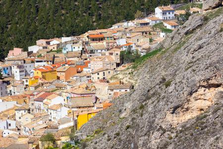 cuenca: Aerial view of the monumental city of Cuenca, Spain