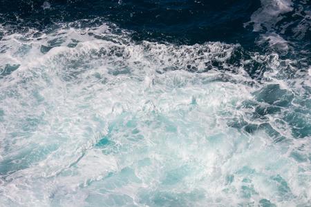 mare agitato: Sfondo con schiuma di mare mosso