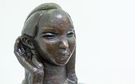 ser humano: formas de escultura modernistas del ser humano Foto de archivo