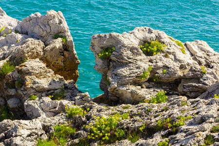 seashores: Blue Rocks along the Cantabrian Sea