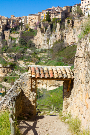 mountains and valleys of the Cuenca region, Spain
