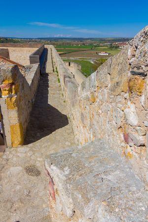 clearly: historical and ancient castle of Zamora, Spain