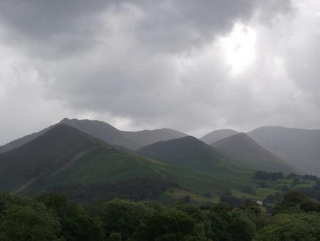 lake district: Lake District Mountains