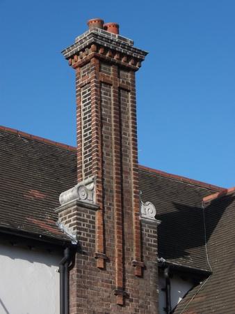Decorative Brick Chimney
