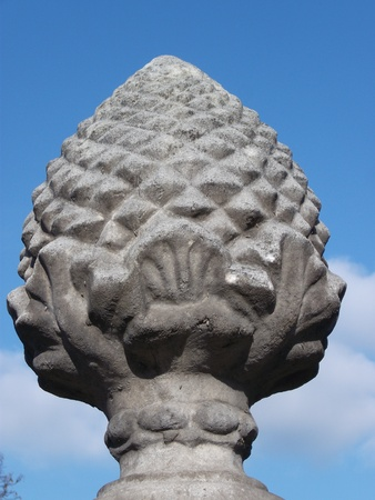 Pineapple Finial Stock Photo - 12398398