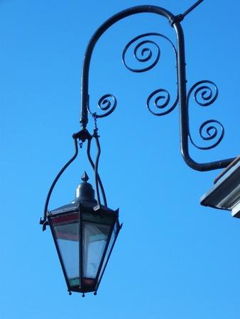 Ornate Old Lamp Stock Photo