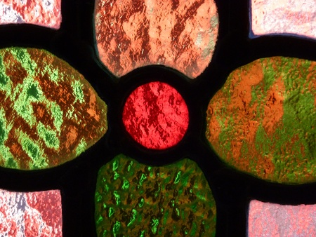 Stained Glass Flower Stock Photo - 13231680