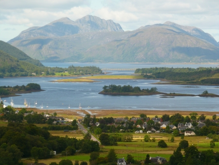Scottish Lochs and Mountains