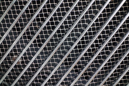 grille: Silver Car Grille