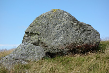 cumbria: Glacial Erratic Rock in Cumbria