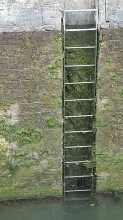 rungs: Lock Ladder Stock Photo